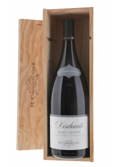 Coffret vin rouge Saint Joseph Deschants magnum
